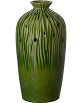 Bayou Breeze Kirkbride Sequoia Table Vase EMR2223 Color: Green Olive
