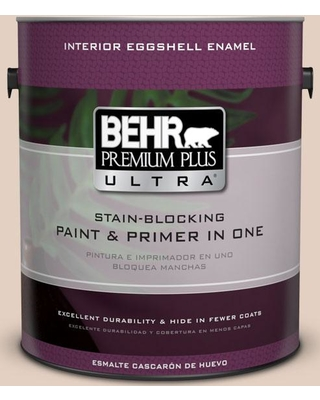 BEHR Premium Plus Ultra 1 gal. #S220-1 Autumn Blush Eggshell Enamel Interior Paint and Primer in One