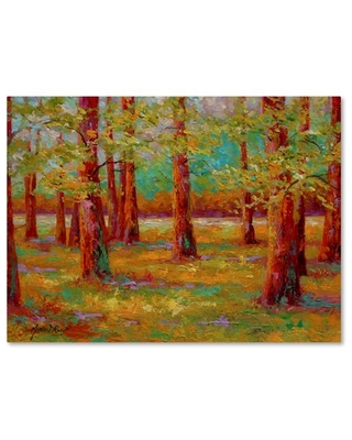 Trademark Fine Art 'A New Spring' Canvas Art by Marion Rose