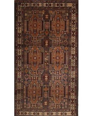 Bloomsbury Market Traditional Brown/Black/Cream Area Rug X112037940 Rug Size: Rectangle 2' x 5'