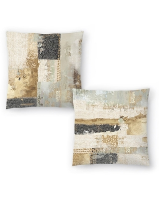 Bare I and Bare II Set of 2 Decorative Pillows