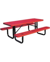 """Leisure Craft Picnic Table ZQ1093 Finish: Green, Table Size: 72"""" W"""