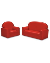 Brand New World Just Like Home Kids Sofa FPVR100 Size: Infant / Todddler (Ages 18-36 months) Color: Red