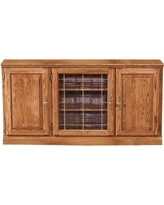 "Loon Peak Manley 56"" TV Stand LNPE7422 Color: Spice Alder"