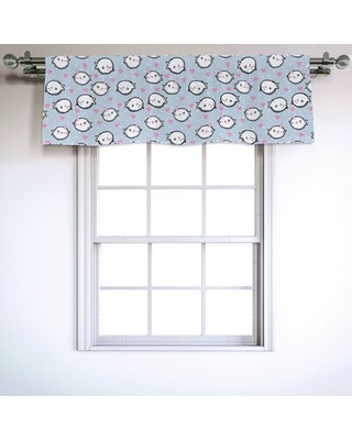 """Narwhal 54"""" Window Valance East Urban Home"""