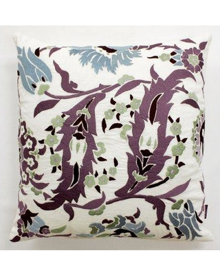 Alcott Hill Hilger Antique Floral Throw Pillow BF015837