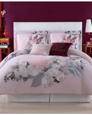 Christian Siriano Dreamy Floral Full/Queen Comforter Set Bedding