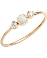 Women's Zoe Chicco Diamond & Opal Cluster Ring (Nordstrom Exclusive)