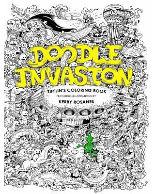 Doodle Invasion : Zifflin's Coloring Book