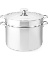 Le Creuset Stainless-Steel Multipot, 9-Qt.