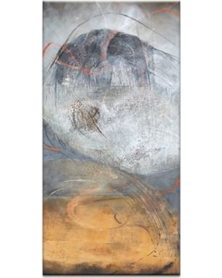 """Artist Lane Energy Surge by Gill Cohn Framed Painting Print on Wrapped Canvas 01GC - P26 Size: 40"""" H x 12"""" W x 1.5"""" D"""