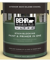 Find Big Savings On Behr Ultra 5 Gal P350 3 Green Charm Flat Exterior Paint And Primer In One