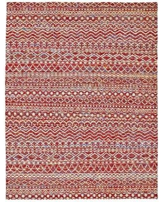 """Bungalow Rose Lavonia Hand-Knotted Crimson Area Rug W000683755 Rug Size: Rectangle 7'9"""" x 9'9"""""""