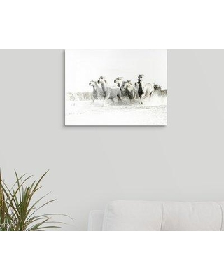 """Union Rustic 'White Water' Photographic Print on Canvas W000068152 Size: 12"""" H x 16"""" W x 1.5"""" D"""