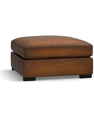 Groovy New Savings On Turner Leather Sectional Ottoman Polyester Caraccident5 Cool Chair Designs And Ideas Caraccident5Info