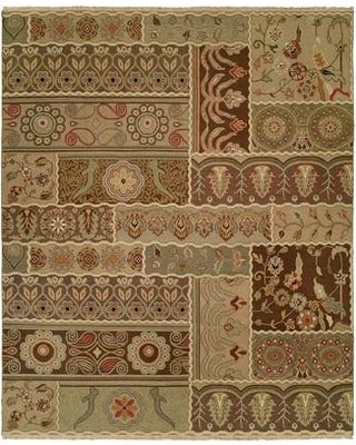 Wildon Home® Massawa Hand-Woven Brown/Green Area Rug CST43155 Rug Size: Rectangle 4' x 6'