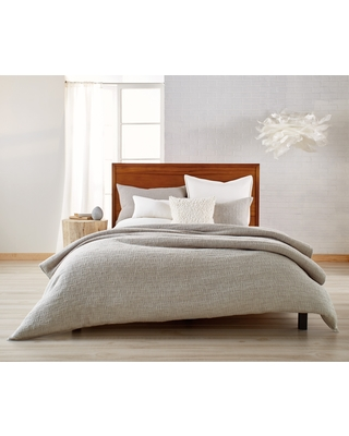 Dkny Pure Texture Duvet Cover, Size King - Grey