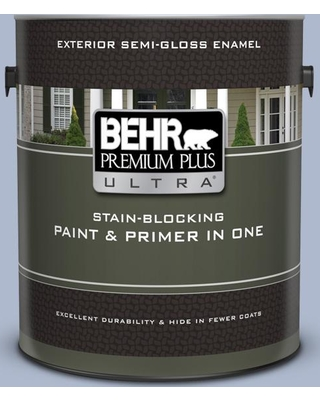 BEHR Premium Plus Ultra 1 gal. #600F-4 Heritage Semi-Gloss Enamel Exterior Paint and Primer in One