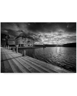 """Millwood Pines 'Sweden Pier' Photographic Print on Wrapped Canvas MIPN1715 Size: 16"""" H x 24"""" W x 2"""" D"""