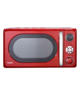 Galanz Retro Style 0.7 cu. ft. Microwave Oven in Red