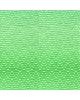 East Urban Home Chevron Wool Green Area Rug X111560439 Rug Size: Square 3'