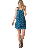 Toad & Co Women's Whirlwind Dress - XS - Inky Teal Print
