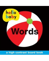 Hello Baby : Words: A High-Contrast Board Book