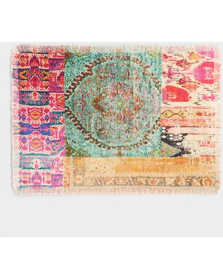 Multicolor Patchwork Haveli Placemats Set of 4 by World Market
