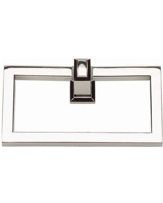 Atlas Homewares Sutton Place Wall Mounted Towel Ring SUTTR Finish: Polished Nickel