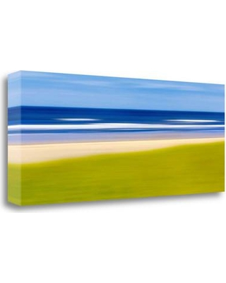 """Tangletown Fine Art 'From the Dunes' Graphic Art Print on Wrapped Canvas ICG701D-3313c Size: 15"""" H x 37"""" W"""