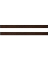 Baby Cache Montana Full Bed Conversion Rails BI181398 Color: Brown Sugar