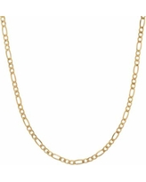 """Everlasting Gold 14k Gold Figaro Chain Necklace - 24-in., Women's, Size: 24"", Yellow"""