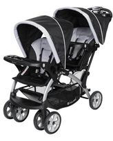 Baby Trend Sit N Stand Travel Multi-Child Stroller in Black, Size 32.0 H x 32.0 W in   Wayfair SS76B51A + CS79B51A