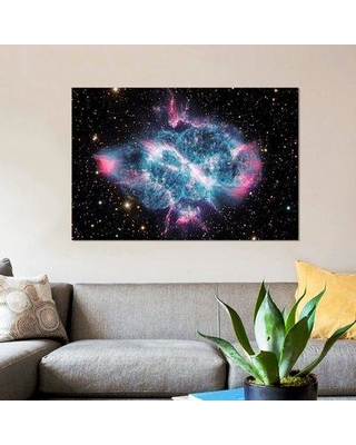 "East Urban Home 'Planetary Nebula in Musca (NGC 5189)' Graphic Art Print on Canvas UBHM8743 Size: 26"" H x 40"" W x 1.5"" D"