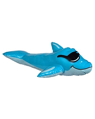 GAME 55303-BB SwimPals Water-Filled Pool Toys, Regular, Dolphin, Submarine, Mermaid, Shark, Ages 6 & Up