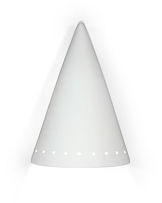 Zealandia Downlight Wall Sconce by A19 - Color: White (803D)