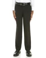 IZOD 001 Black Boys 8-20 Basic Stretch Suit Separate Pants