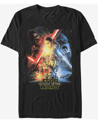 Star Wars Episode VII The Force Awakens Cool Poster T-Shirt