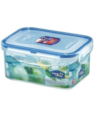 Lock & Lock Easy Essentials 20-Ounce Rectangular Food Storage Container Set of 6 HPL811S6