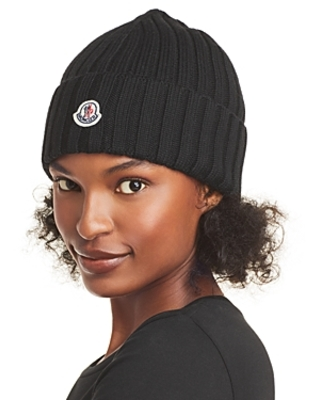 Moncler Berretto Ribbed Beanie