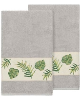 Bay Isle Home Styles Embellished Turkish Cotton Bath Towel BF111098 Color: Light Gray