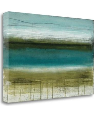 """Tangletown Fine Art 'Shoreline Horizons' Graphic Art Print on Wrapped Canvas CAMHP109-2416c Size: 16"""" H x 24"""" W"""