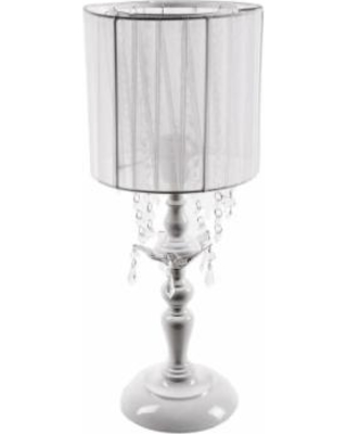 Tadpoles Shaded Table Lamp, White