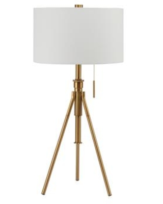 Zaya L731171t Gl Table Lamp With Contemporary Style Metal Height 32 37