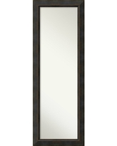 On The Door Full Length Wall Mirror, Signore Bronze 19 x 53-inch - 52.38 x 18.38 x 1.032 inches deep (On The Door Full Length Wall Mirror,Signore