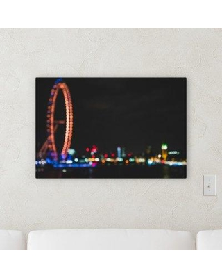 "Ebern Designs 'Blury Style' Photographic Print on Wrapped Canvas BF068827 Size: 30"" H x 40"" W x 2"" D"