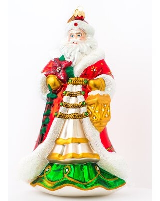 Papa Noel Hanging Figurine Ornament The Holiday Aisle®