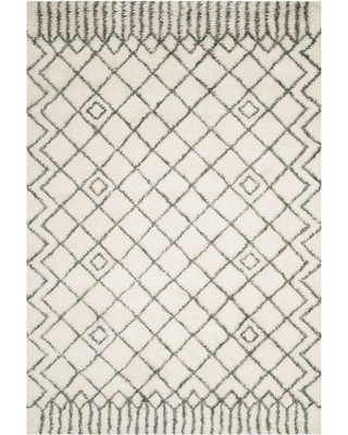 Discover Deals On Safavieh Casablanca Ivory Grey 6 Ft X 9 Ft Area Rug Ivory Gray