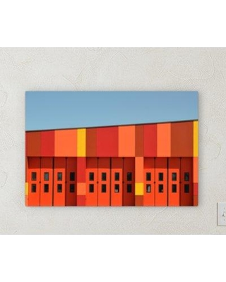 "Ebern Designs 'All Colors' Photographic Print on Wrapped Canvas BF072029 Size: 16"" H x 20"" W x 2"" D"