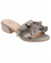 Journee Collection Women's Sabica Mules - Grey